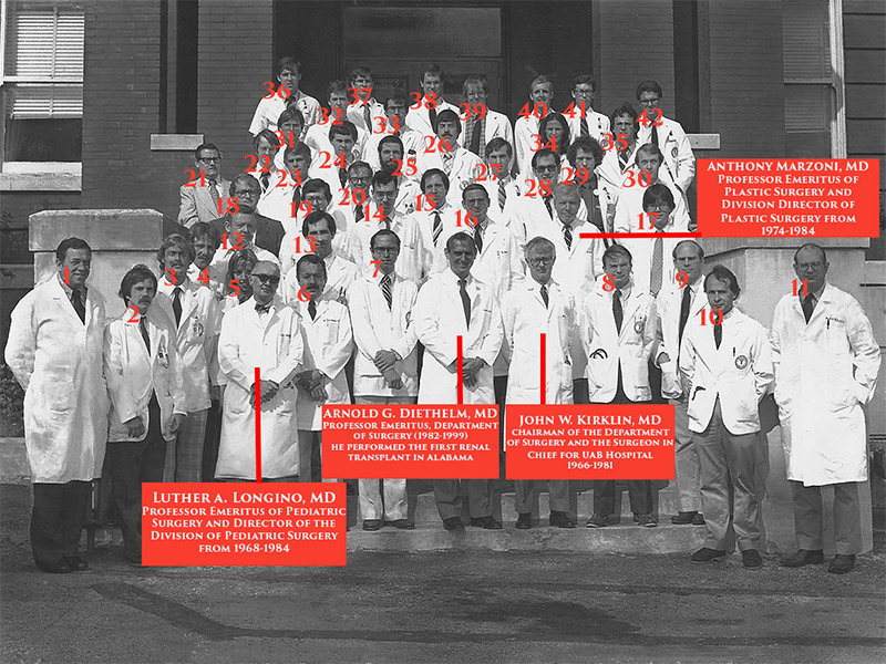 University of Alabama School of Medicine Department of General Surgery 1980